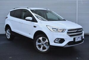 2018 Ford Escape ZG 2019.25MY Trend AWD White 6 Speed Sports Automatic Wagon Epping Whittlesea Area Preview
