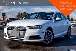 2017 Audi A4 Progressiv|Quattro|Navi|Sunroof|Bluetooth|Leather|