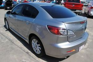 2012 Mazda 3 BL10F2 MY13 Maxx Sport Silver 6 Speed Manual Sedan Townsville Townsville City Preview