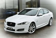2015 Jaguar XF X250 MY15 R-Sport White 8 Speed Sports Automatic Sedan Berwick Casey Area Preview
