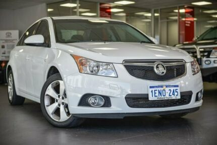 2014 Holden Cruze JH Series II MY14 Equipe White 6 Speed Sports Automatic Sedan Bellevue Swan Area Preview