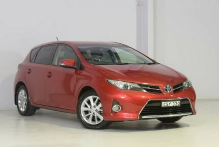 2014 Toyota Corolla ZRE182R Ascent Sport Red 6 Speed Manual Hatchback Wyong Wyong Area Preview