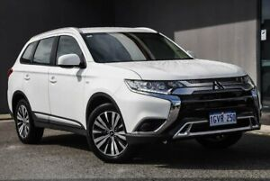 2019 Mitsubishi Outlander ZL MY19 ES 2WD White 6 Speed Constant Variable Wagon Osborne Park Stirling Area Preview