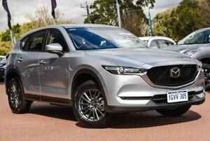 2018 Mazda CX-5 KF4WLA Touring SKYACTIV-Drive i-ACTIV AWD Silver 6 Speed Sports Automatic Wagon
