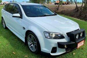 2012 Holden Commodore VE II MY12.5 SV6 Sportwagon White 6 Speed Automatic Wagon Berrimah Darwin City Preview