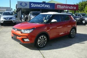 2019 Ssangyong Tivoli X100 MY19 Ultimate (AWD) Two Tone Orange 6 Speed Automatic Wagon Hendra Brisbane North East Preview