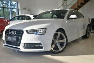 2015 Audi A5 8T MY16 S Tronic Quattro White 7 Speed Sports Automatic Dual Clutch Coupe Berwick Casey Area Preview