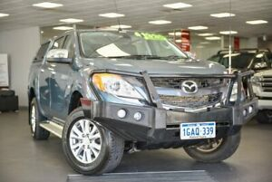 2015 Mazda BT-50 UP0YF1 GT Blue 6 Speed Sports Automatic Utility Bellevue Swan Area Preview