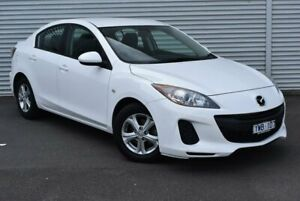 2012 Mazda 3 BL10F2 Neo Activematic White 5 Speed Sports Automatic Sedan Epping Whittlesea Area Preview