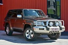 2006 Nissan Patrol GU IV MY05 ST-L Bronze 4 Speed Automatic Wagon Molendinar Gold Coast City Preview