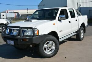 2011 Nissan Navara D22 MY08 ST-R (4x4) White 5 Speed Manual Dual Cab Pick-up Kewdale Belmont Area Preview