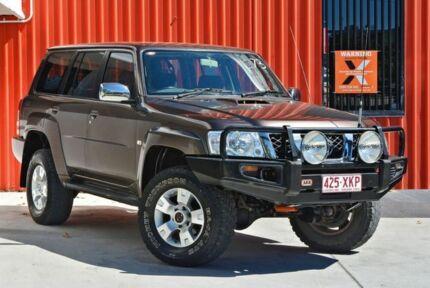 2006 Nissan Patrol GU IV MY05 ST Bronze 5 Speed Manual Wagon