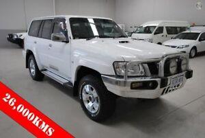2013 Nissan Patrol Y61 GU 8 ST White 5 Speed Manual Wagon