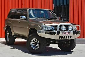 2007 Nissan Patrol GU 5 MY07 ST Gold 4 Speed Automatic Wagon Molendinar Gold Coast City Preview
