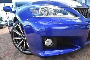 2010 Lexus IS F USE20R MY11 Blue 8 Speed Sports Automatic Sedan Osborne Park Stirling Area Preview