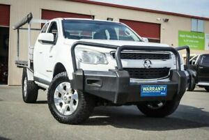2013 Holden Colorado RG MY13 LX Space Cab White 5 Speed Manual Cab Chassis Coopers Plains Brisbane South West Preview