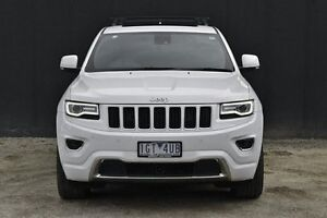 2015 Jeep Grand Cherokee WK MY15 Overland White 8 Speed Sports Automatic Wagon Berwick Casey Area Preview