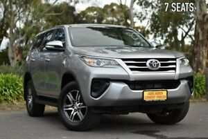 2016 Toyota Fortuner GUN156R GX Silver 6 Speed Automatic Wagon Melrose Park Mitcham Area Preview
