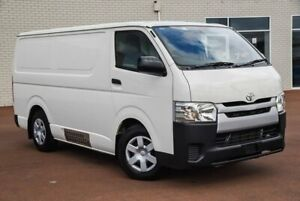 2017 Toyota HiAce KDH201R LWB White 4 Speed Automatic Van Morley Bayswater Area Preview