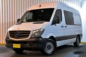 2013 Mercedes-Benz Sprinter NCV3 MY14 316CDI Low Roof MWB 7G-Tronic White 7 Speed Sports Automatic Hendra Brisbane North East Preview