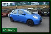 2012 Nissan Micra K13 ST Blue 4 Speed Automatic Hatchback Seven Hills Blacktown Area Preview