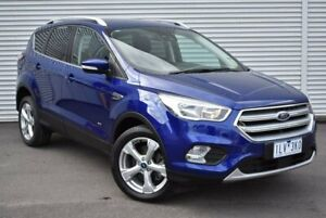 2018 Ford Escape ZG 2018.00MY Trend PwrShift AWD Blue 6 Speed Sports Automatic Dual Clutch Wagon