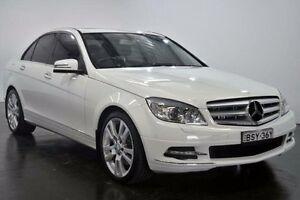 2010 Mercedes-Benz C350 CDI W204 Avantgarde White Sports Automatic Sedan Lansvale Liverpool Area Preview