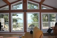 Lakefront Views Cottage for Rent Getaway