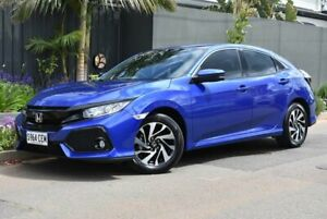 2018 Honda Civic 10th Gen MY18 VTi-S Blue 1 Speed Constant Variable Hatchback Brighton Holdfast Bay Preview