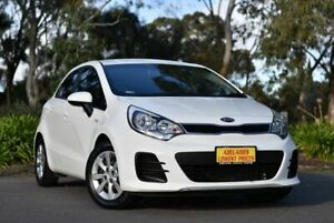 2015 Kia Rio UB MY15 S White 4 Speed Sports Automatic Hatchback Melrose Park Mitcham Area Preview