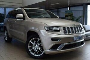 2015 Jeep Grand Cherokee WK MY15 Summit Gold 8 Speed Sports Automatic Wagon Belconnen Belconnen Area Preview
