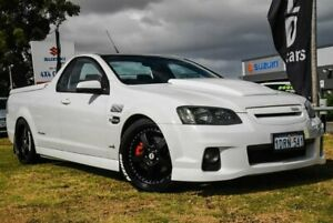 2011 Holden Ute VE II MY12 SS White 6 Speed Sports Automatic Utility