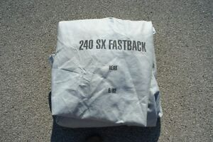 Nissan 240 SX Fastback Car Cover