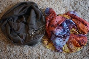 Assorted Women's Scarves, scarf, shawls, tribal, unique