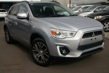 2016 Mitsubishi ASX XB MY15.5 LS 2WD Silver 6 Speed Constant Variable Wagon Nunawading Whitehorse Area Preview