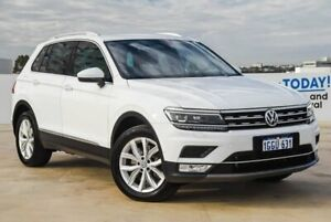 2017 Volkswagen Tiguan 5N MY17 162TSI DSG 4MOTION Highline White 7 Speed Osborne Park Stirling Area Preview