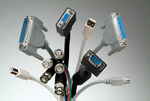 Network-Ethernet-HDMI-VGA-DVI Cable and Connectors and Adapters