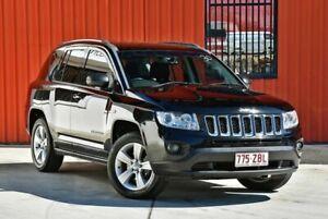 2013 Jeep Compass MK MY13 Sport CVT Auto Stick Black 6 Speed Constant Variable Wagon Molendinar Gold Coast City Preview
