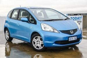 2009 Honda Jazz GE MY10 VTi Blue 5 Speed Automatic Hatchback Osborne Park Stirling Area Preview
