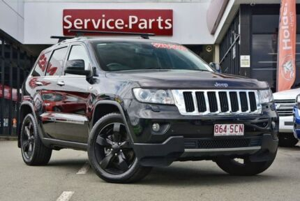 2011 Jeep Grand Cherokee WK MY2011 Limited Black 5 Speed Sports Automatic Wagon