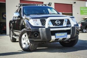 2008 Nissan Navara D40 ST-X Black 6 Speed Manual Utility Coopers Plains Brisbane South West Preview