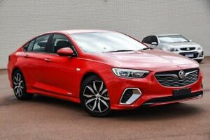 2018 Holden Commodore ZB MY18 RS Liftback AWD Red 9 Speed Sports Automatic Liftback Morley Bayswater Area Preview