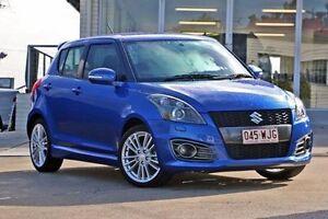 2012 Suzuki Swift FZ Sport Blue 6 Speed Manual Hatchback Jamboree Heights Brisbane South West Preview