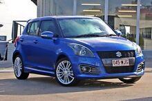 2012 Suzuki Swift FZ Sport Blue 6 Speed Manual Hatchback Yeerongpilly Brisbane South West Preview
