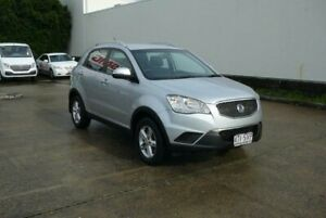 2011 Ssangyong Korando C200 S Silver 6 Speed Automatic Wagon Rothwell Redcliffe Area Preview
