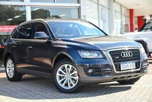 2010 Audi Q5 8R MY11 TDI S Tronic Quattro Grey 7 Speed Sports Automatic Dual Clutch Wagon