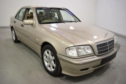 1998 Mercedes-Benz C180 W202 Classic Gold 5 Speed Automatic Sedan Moorabbin Kingston Area Preview