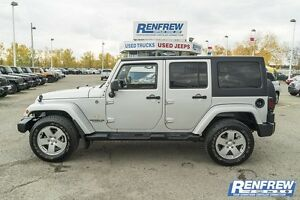 2012 Jeep Wrangler Unlimited 4 door Sahara hard top Manual