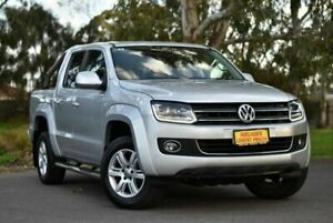 2015 Volkswagen Amarok 2H MY15 TDI420 4Motion Perm Highline Silver 8 Speed Automatic Utility Melrose Park Mitcham Area Preview