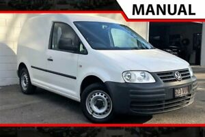 2008 Volkswagen Caddy 2KN SWB White 5 Speed Manual Van Ashmore Gold Coast City Preview